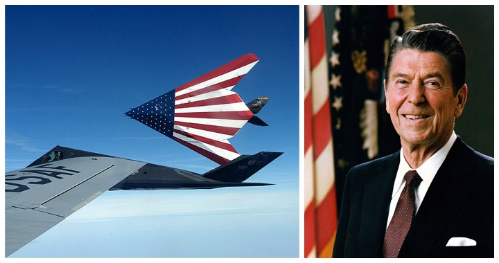 Ronald Reagan Presidential Library & Museum Is Getting An F-117 Nighthawk Stealth Fighter Jet