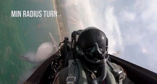 F-22 Raptor Pilot Fly Ten Incredible Death-Defying Maneuvers In A Two Minute Time-Lapse Video