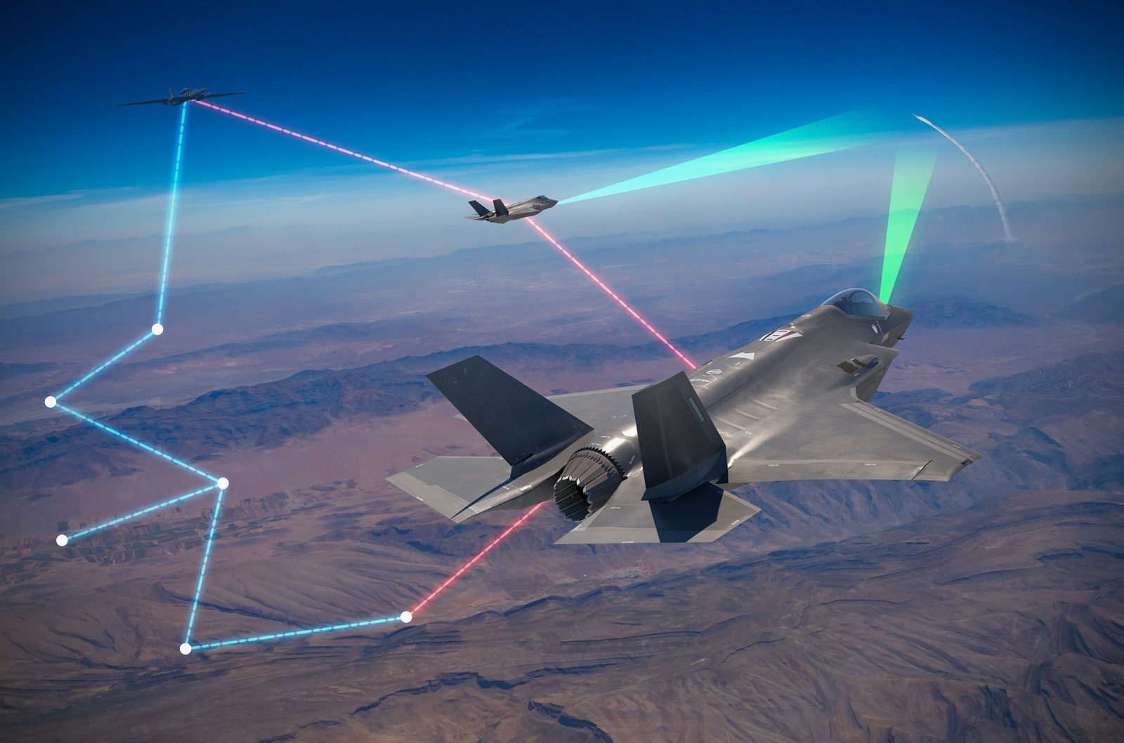 Project Riot: U.S. Air Force Successfully Connected an F-35 Fighter Jet With a U-2 Spy Plane