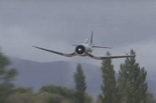 How the WW2 Corsair Got Its Nickname - Listen to Insane F4U Whistle