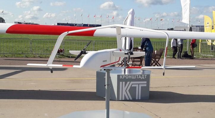 List Of New Russian Mega-Drones Unveils at MAKS 2019 Airshow