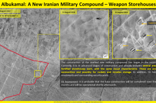 Satellite imagery shows Iran allegedly building massive military base in Syria