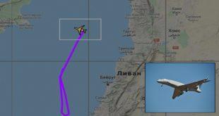 Israeli Air Force Spy Plane Flies Near Sensitive Russian Naval Base In Syria
