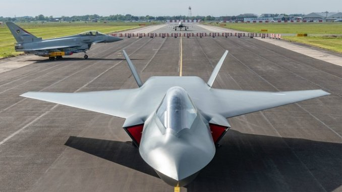 """Italy Joins UK New Sixth-generation """"Tempest"""" fighter Jet Programme"""