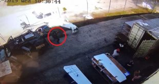 Footage Shows Man Narrowly Escapes Being Hit by Crash Landing Light Aircraft
