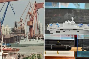 Russia Building First Two Universal Landing Ships In Crimean Shipyard