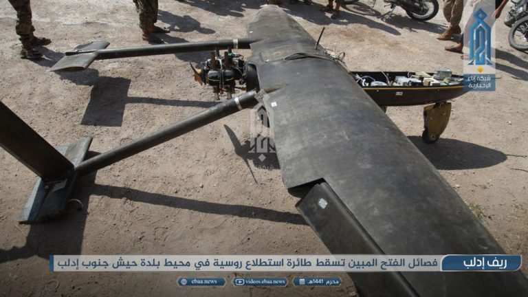 Syrian Militant Group Claims To Shot Down Russian Drone Over Southern Idlib