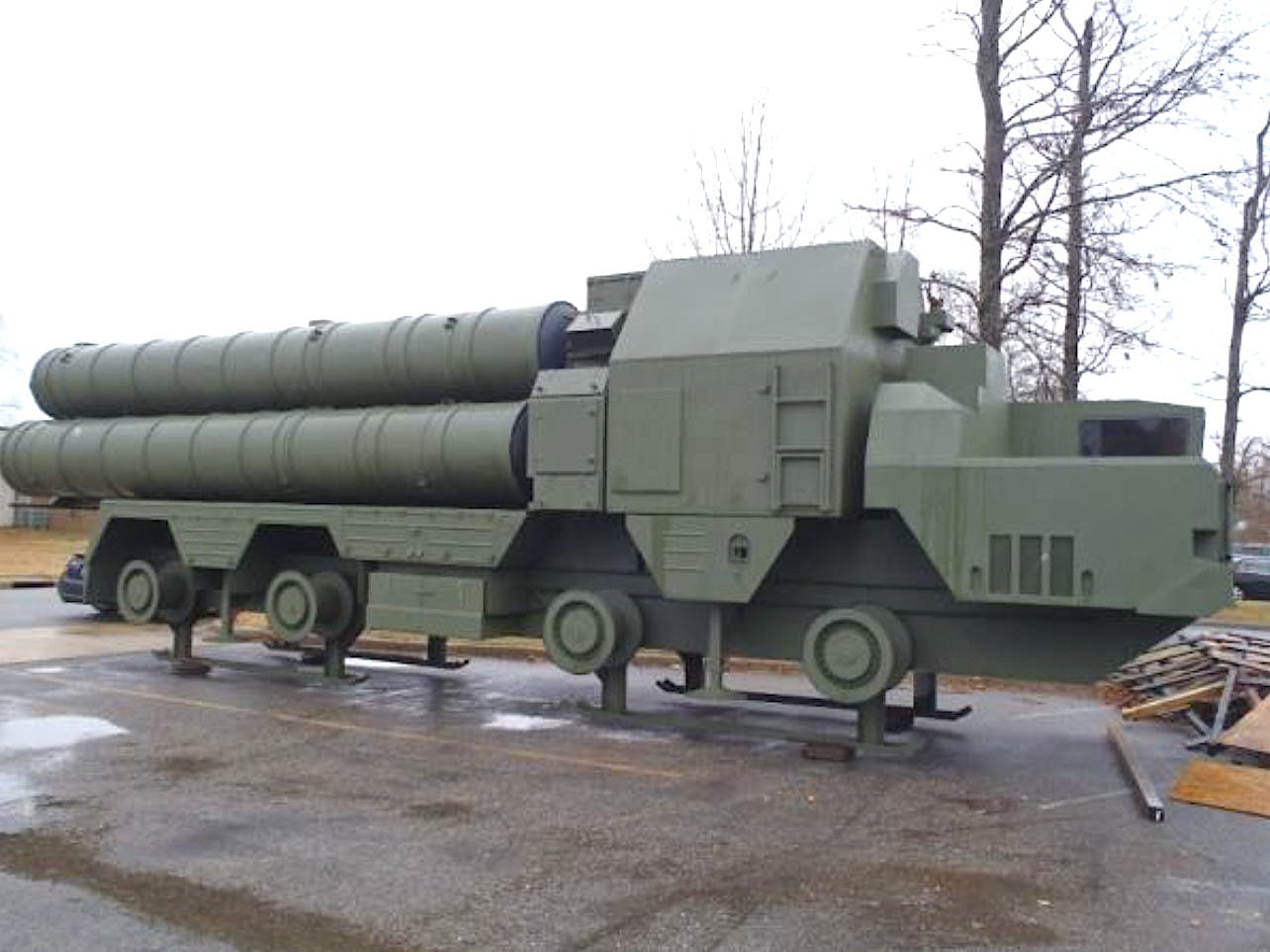 U.S. to buy Super Realistic mock-ups of Russian S-300 air defense system