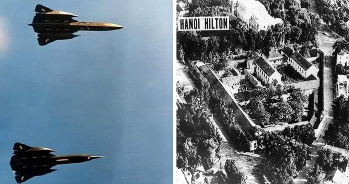 That Time Two SR-71 Blackbirds Generated Tri-Sonic Booms To Free US POWs In North Vietnam