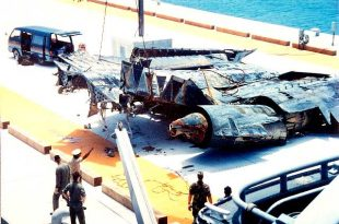 Doomed SR-71 Blackbird Buried At Sea With Full Military Honors