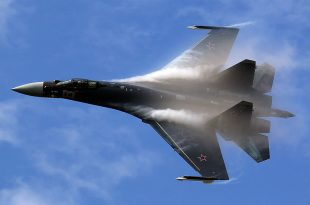 Russian SU-35 Performed High-speed Inverted Maneuver In Front Of U.S Navy Aircraft During An Unsafe Intercept