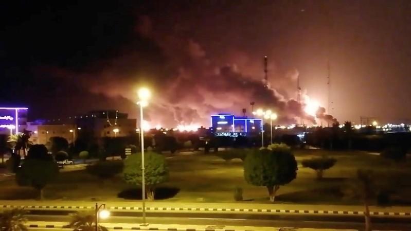 Two Major Saudi Arabia Oil Installations Hit by Yemen's Houthi Rebels Drone Strike