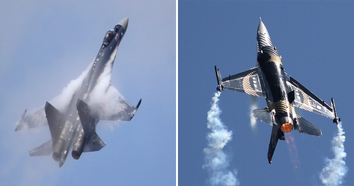 "Turks Called F-16 ""Junk"" After Watching The Russian Su-35 In Action At Technofest 2019"