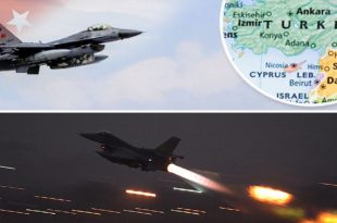 Two Turkish F-16 Fighter Jets Flew In Syrian Airspace For Two Hours: Defense Ministry