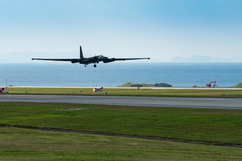 U.S. Air Force Deploys U-2 Spy Plane To RAF Fairford England