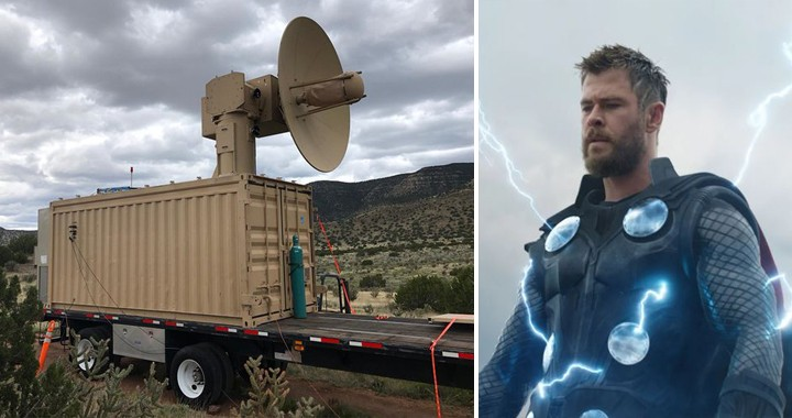 USAF Unveils New Electromagnetic Weapon Code-Named 'THOR' That Can Take Out Swarms Of Drones
