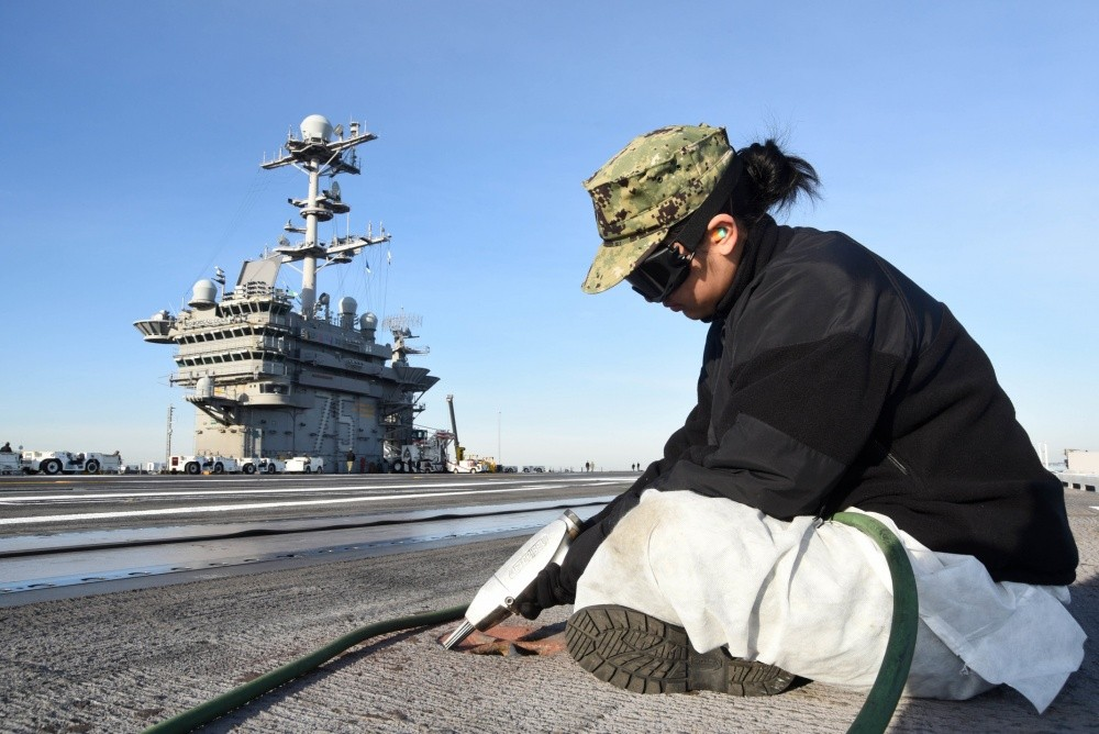 U.S. Navy USS Harry S. Truman Aircraft Carrier Suffered Major Electrical Malfunction