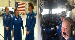 Women Hurricane Hunters: First all-female crew flies into Hurricane Dorian on NOAA recon mission