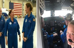 Women Hurricane Hunters: First all-female crew flies into Hurricane Dorian on NOAA recon mission