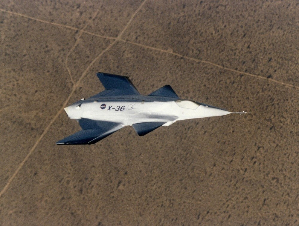 McDonnell Douglas/Boeing X-36 Tailless Fighter Agility Research Aircraft