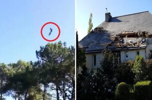 Belgian Air Force F-16BM Crashed In A Residential Area In France After An In-flight Engine Fire