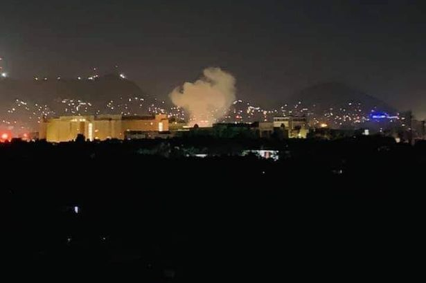 Explosion At U.S. Embassy In Kabul Just After The Clock Struck Midnight On The Anniversary Of 9/11