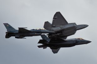U.S. Air Force Is Dropping 80% Aircraft Readiness Goal Set For F-22, F-35 & F-16