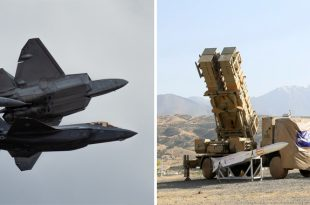 Iran Says Its New Air Defense System Can Shoot Down F-22 & F-35 Stealth Fighter Jets