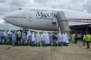 Max Air Boeing 747-4B5 Plane Carrying 600 Pilgrims Crash Lands In Nigeria