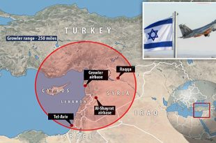 Russia Threatens To Shoot Down Israeli Planes Using Its Fighter Jets & S-400 Stationed In Syria