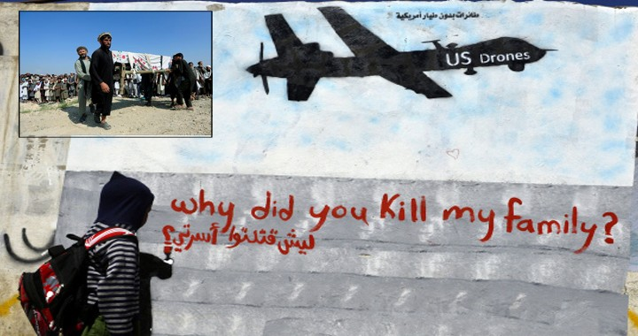 U.S. Drone Strike Intended For ISIS killed 30 & Injured 40 Pine Nut Farm Workers In Afghanistan