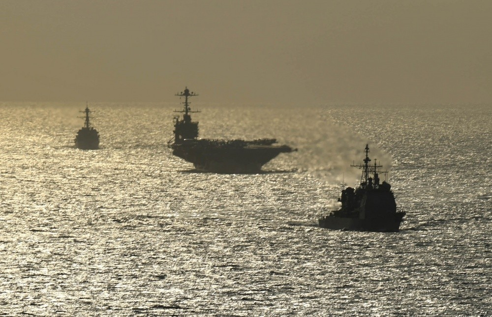 U.S. Navy Deployed A Carrier Strike Group Without Its Aircraft Carrier