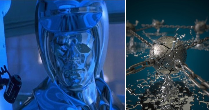 """U.S. Air Force Developed A """"Terminator-Like"""" Liquid Metal That Can Autonomously Changes Structure"""