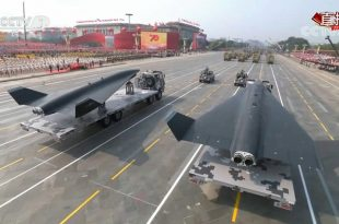 China Unveils New Supersonic Spy Drone At the National Day Parade In Beijing