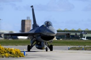 U.S. Air Force F-16CM Fighter Jet Crashes In South West Germany