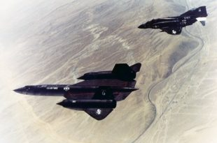 That Time F-4 Phantom II Saved An SR-71 Blackbird From A Meteor Attack