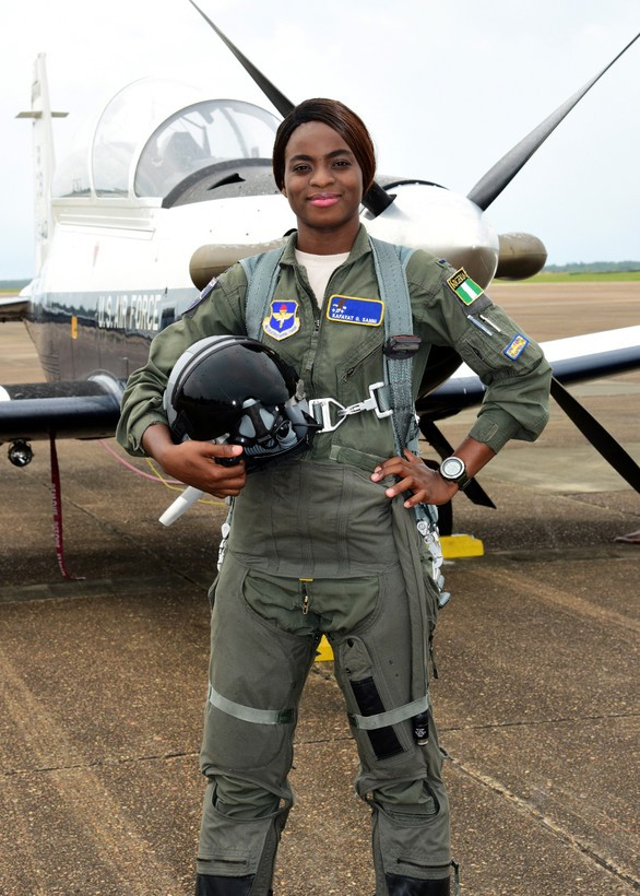 Nigeria Air Force First Female Fighter Pilots