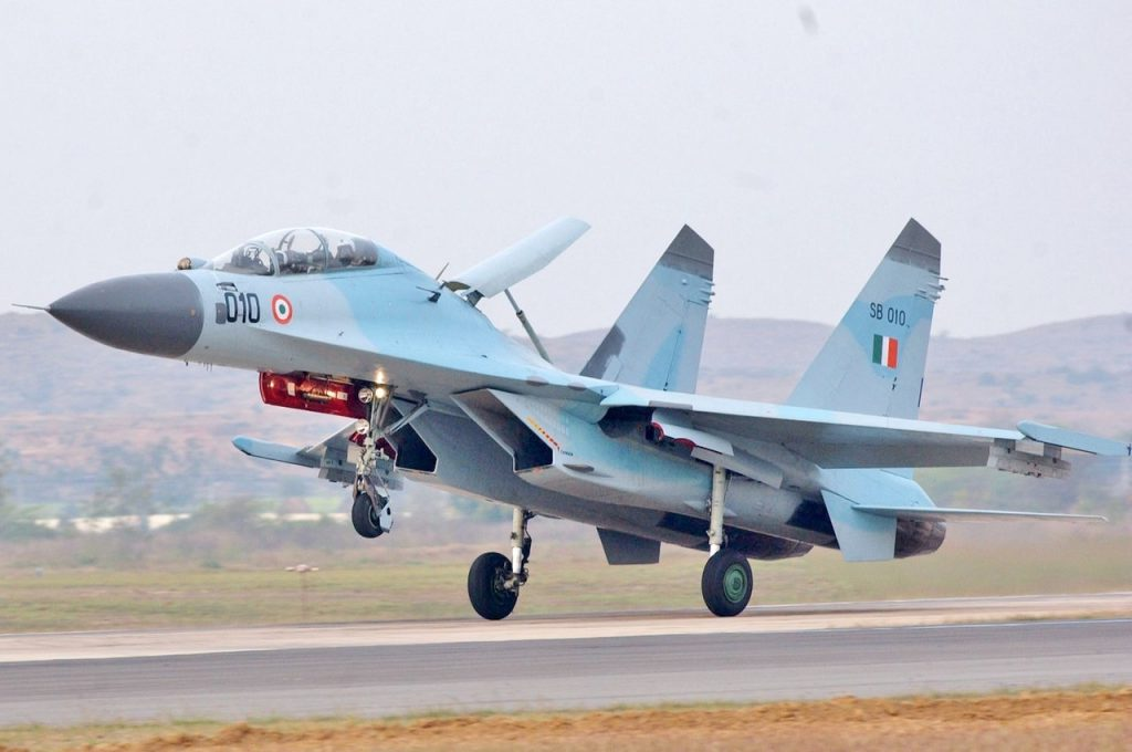 Indian Air Force Sukhoi Su-30MKI Fleet Could Reach 350 Fighters As HAL Expects Further Orders for License Production