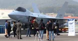 South Korea Unveils Full-Scale Mock-up Of KF-X Fighter Jet At Seoul ADEX 2019