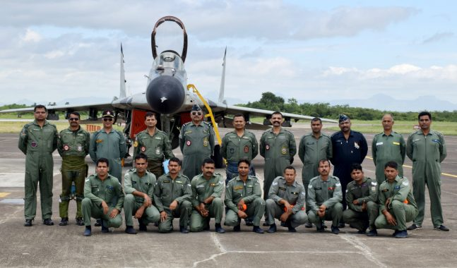 After 33 Years Of Service IAF Last MiG-29 Makes Final Flight