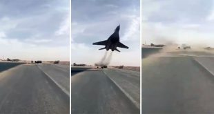 Watch: MiG-29 Performing An Insane Low Pass Flyby At Mecheria Air Base
