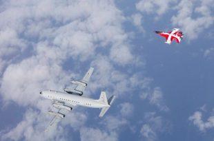 RDAF Sent Special Colored F-16s To Intercept A Russian Il-20M Spyplane