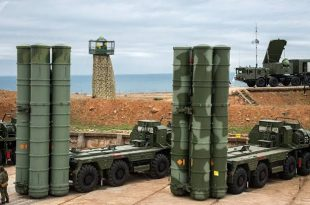 Russia Test-Fire New S-500 Missile Defence System In Syria?