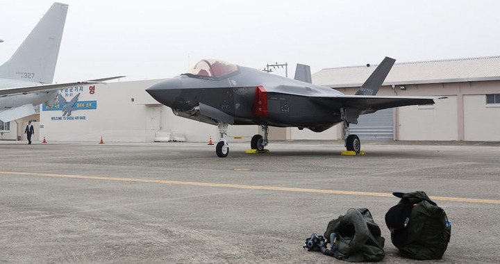 South Korea Showed Off Newly Purchased F-35 Stealth Fighter Jets For The First Time