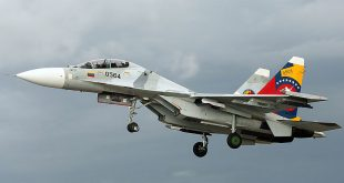 Venezuelan Air Force Su-30MK2V Fighter Jet Crashed Killing Both Pilots