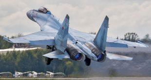 Russian Air Force Sukhoi Su-35 Crashes Into The Sea Of Okhotsk