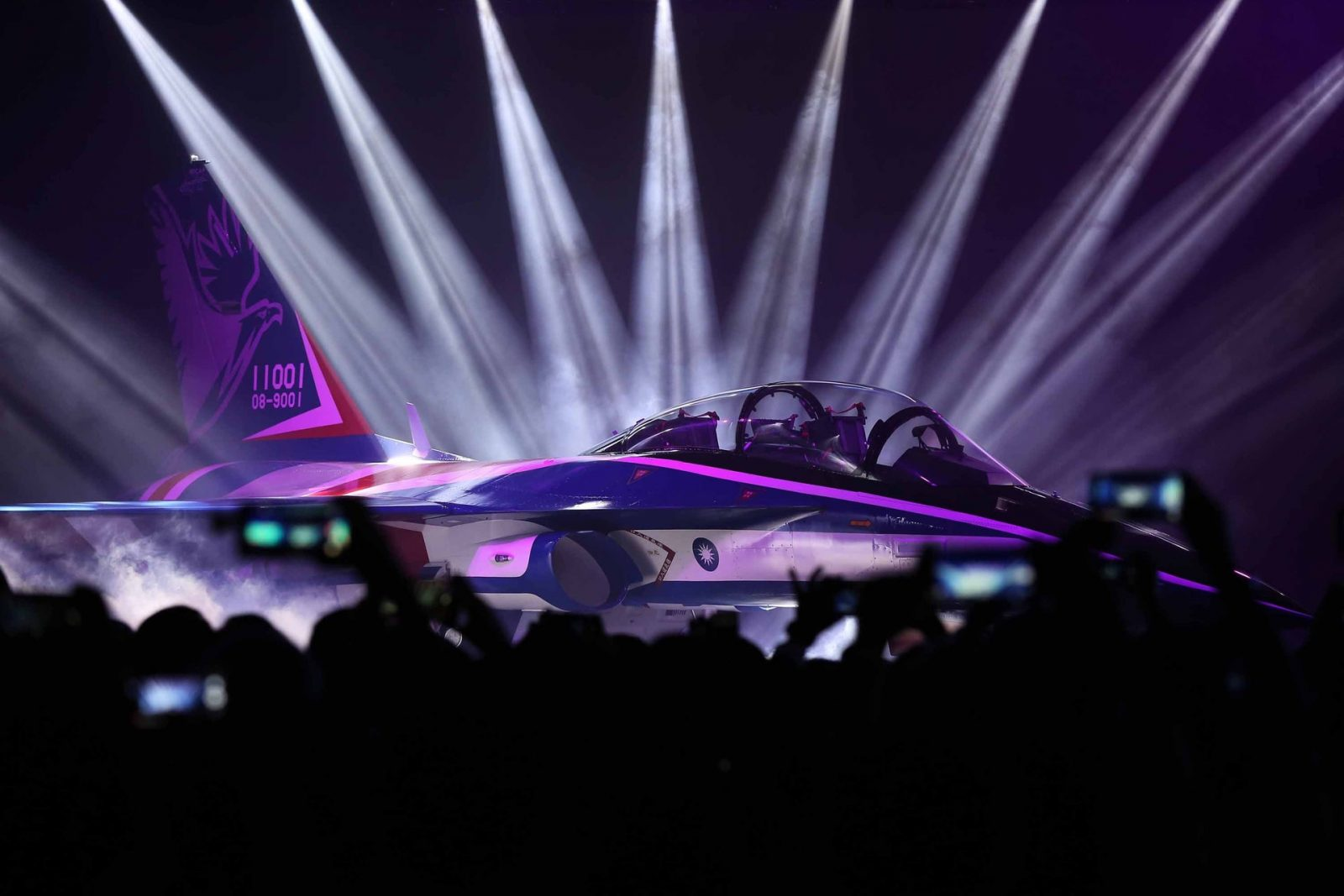 """Taiwan Unveils New Indigenous Advanced Jet Trainer Named """"Yung Yin"""""""
