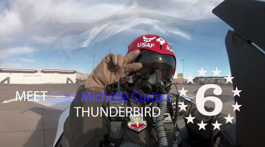 A Day With The Only Female Thunderbird Pilot In The U.S. Air Force