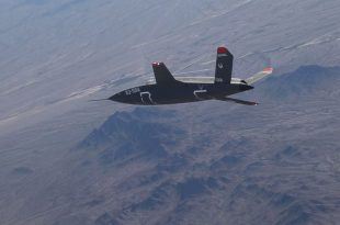 U.S. Air Force's New Stealth Combat Drone Damaged During Third Test Flight