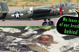 B-25 Pilots Give An Emotional Salute To Their Fallen B-17 Nine-O-Nine Brothers
